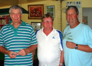 (Left-right): Steve Compton, Wayne Cotterell and Gary Hogg.
