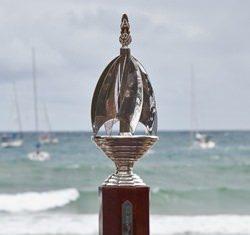 The beautiful nine-sail design Phuket King's Cup.