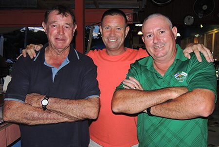 (From left): Bruce McAdam, Martin Kingswood and Murray Hart.