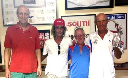 Bill Steinman, Niall Stuart, Shane Young & Alain Taddei.
