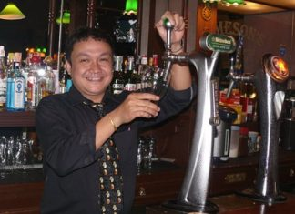 "The ever-smiling Bob deserves his own mention, presiding over ""Bob's Bar"" with all the expected beers and spirits."