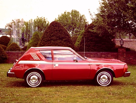 """""""Where's the rest of your car, toots?"""" AMC Gremlin."""