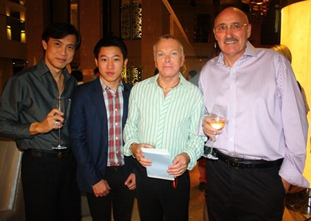 (L to R) Pichai Visutriratana, Worldwide Destinations Asia, Panpiti Chalermvisetpol, Riora Creation Co., Ltd., Jim Lumsden and Gordon May.