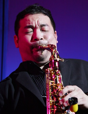 Koh Mr. Saxman puts his heart and sole into every note.