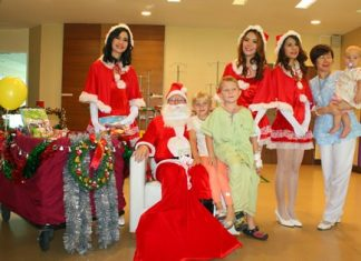 Santa Claus and his helpers once again made their annual pre-Christmas trip to Bangkok Hospital Pattaya to cheer up the little ones who might be feeling a little bit blue, so far away from home. At this holiday time of warmth and happiness, the Pattaya Mail team wishes everyone a Merry Christmas. May there be peace on earth and goodwill towards all.