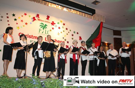 Entertainment this year included Christmas Carols and songs by the Bella Voce Choir, under the direction of international opera singer, Kim Jun Man.