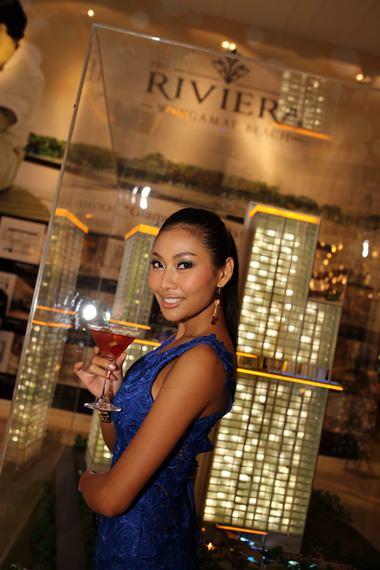 "Kamonrat ""Emmy"" Ladseeta - the new brand ambassador for The Riviera."