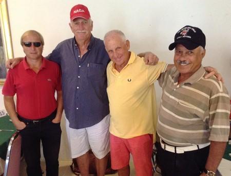 Mike Allidi, Eddie Townsend, J C Lhoste & Ebrahim.
