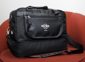Hard Rock limited edition golf shoe bag for all entrants.