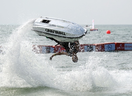 Witness some fabulous jet-ski action from Dec. 6-8 at Jomtien Beach.