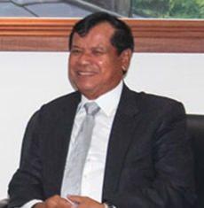 Cambodia's Minister of Tourism, Thong Khon.
