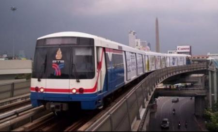 BTS, MRT passengers increase during Bangkok Shutdown - Pattaya Mail