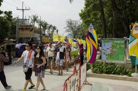 Patong Beach on 3 December 2013