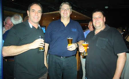 (L to R) Ken Bright, Manufacturing & Engineering Manager of Chassis Brakes International (Thailand) Limited, L. Peter Johanson, MD of Tellus and Shane Van Harten, Project Manager of Chassis Brakes International (Thailand) Limited.