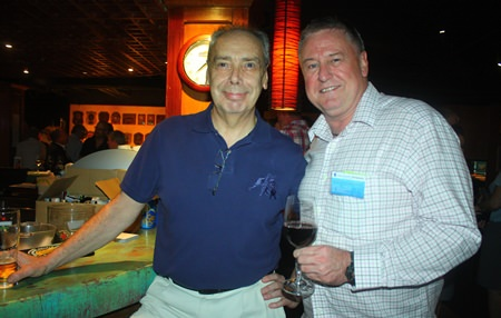 Peter Windgasse (left) and John Howarth, MD of Asia Pacific Pensions.
