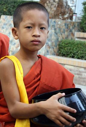 The age of several younger monks had yet to reach double figures.