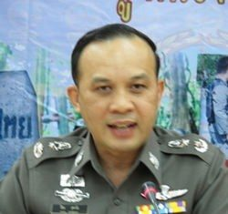 Royal Thai Police Spokesperson Police Major General Piya Uthayo.