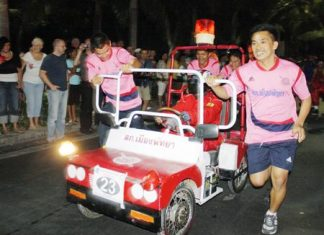 This year's bed race is scheduled for Sunday, Jan. 26.