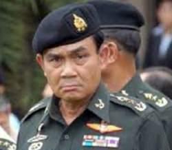 Army chief, Gen Prayuth Chan-ocha.