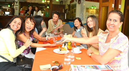 About 70 members of the Pattaya International Ladies Club attended the January 21 meeting at Horseshoe Point.