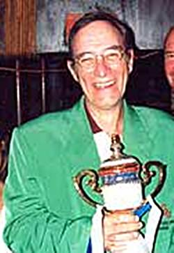 Randall Blacet, aka Dr. Doom scored forty-five Stableford points to win the coveted 2004 TQ Masters Green Jacket.
