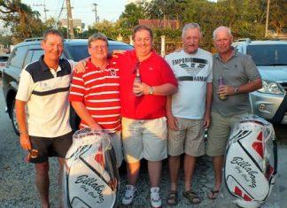 Glyn, Cottee, Tubs, John and Paul Greenaway.