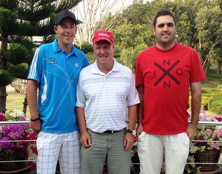 Tristan Freeman, Ernie Picken & Tom McMahon.