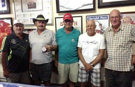 Peter Blackburn, Roy Dayton, Bent Agerbo, John Davis & Alan Sanders.