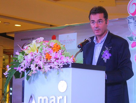 "Richard Margo, Resident Manager at Amari Orchid Pattaya, talks about the importance of organizing ""Valentine's Day 2014: Love Destination""."