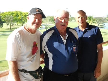 Michele Sancillo and Franco Moretti with Dave Richardson.