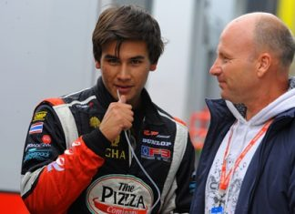 Thailand's Sandy Stuvik (left) is the official vice champion for the 2013 European F3 Open season.
