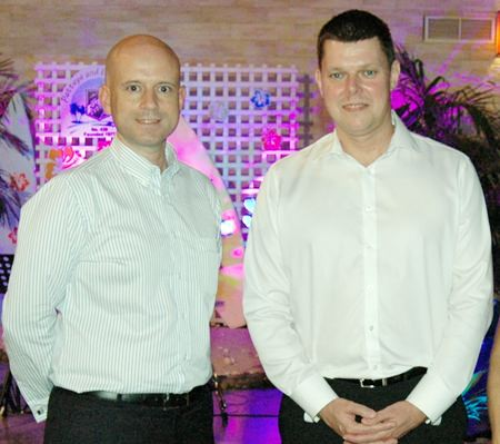Dominique Ronge (left), general manager of Centara Grand Phratamnak Pattaya, is pleased to announce the appointment of Carl Duggan (right) as executive assistant manager - Food and Beverage.