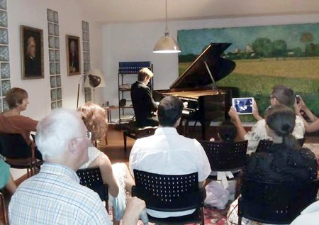Russian pianist Andrey Gugnin had the audiences spellbound during his trip to Pattaya. (Photo courtesy Matthew Bolton)