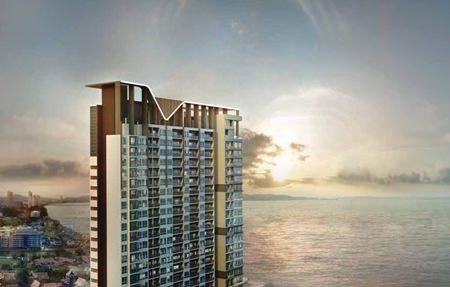 An artist's rendering shows the Veranda Beach Pattaya project in Na Jomtien.