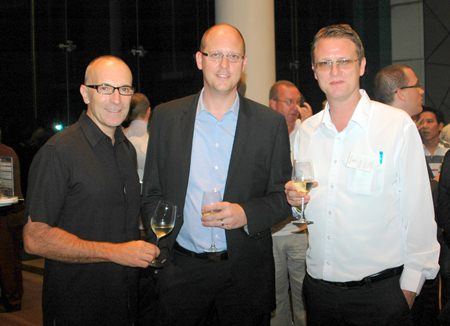 (L to R) Robert John Lohrmann, General Manager of the Centara Grand Mirage Beach Resort Pattaya; Rudolf Troesler, General Manager of the Hilton Hotels & Resorts Pattaya; and Jonas Sjostedt, General Manager of the Centara Nova Hotel & Spa Pattaya.