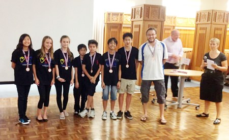 St Andrews secondary students are rewarded with second place in the overall competition.