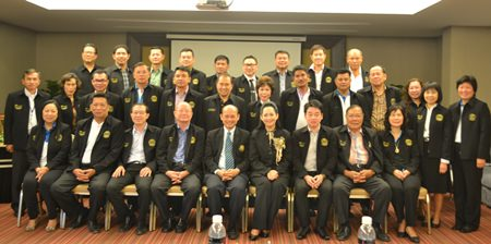Nearly 30 Pattaya and Chonburi council members, administrators and bureaucrats finished a series preparation lectures from Burapha University lecturers on ways to improve their work in administration before heading off to Japan.