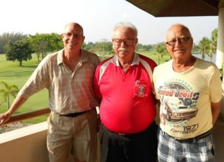 (L to R) Brian Gabe, Dave Richardson and Jan Lovgreen.