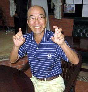 Mashi Kaneta celebrates a return to form.