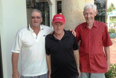 Peter Blackburn, Frankie Sharratt & Kurt Eric Persson.