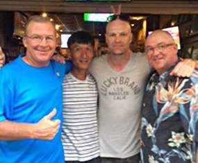 2014 JTB Charity Classic winners – John, Kenny, Mike and Brad.