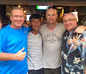 2014 JTB Charity Classic winners – John, Kenny, Mike and Brad.