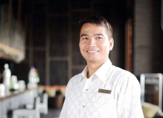 F&B Manager Sirichai Worajuk.