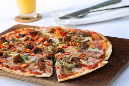 'BBQ P&B Pizza' available at Havana Bar & Terrazzo.