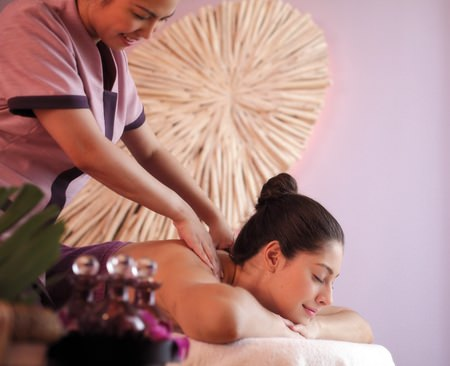 A full range of pampering options are available.
