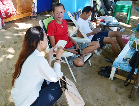 Beach bench operator Sarawut Kamkhet said his low season began in March on Jomtien Beach.