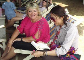 Julie Lythgoe has witnessed a number of Songkran celebrations.