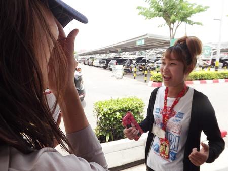 Phanoi Prasert said she enjoys Wan Lai very much.