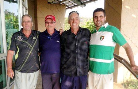 Peter Blackburn, John Anderson, Lindsay Slender & Tom McMahon.
