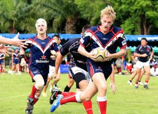 Fast sporting action and great pitch-side entertainment are part and parcel of the annual Chris Kays Memorial rugby tournament.